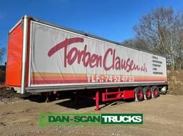 gesloten opbouw oplegger Ntn 3 aksl box trailer 1998