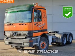 standaard trekker Mercedes-Benz Actros 2648 LS 6X4 Hydraulik BigAxle 3-Pedals Euro 3 2002