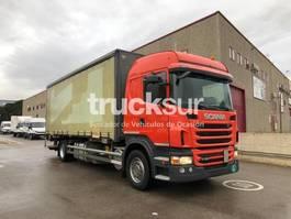 huifzeil vrachtwagen Scania G320 2011