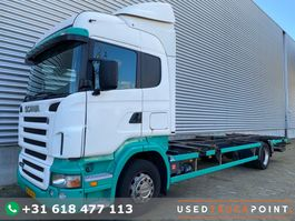 wissellaadbaksysteem vrachtwagen Scania R310 / Manual / 479 DKM !!! / BDF / Tail Lift / Old Tacho / TUV:8-2021 / NL T... 2005
