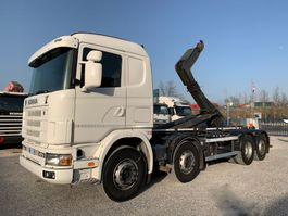kipper vrachtwagen > 7.5 t Scania R124-470 R124.470  8x2 Euro3 2004