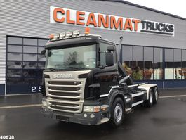 containersysteem vrachtwagen Scania G480 2012