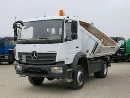 kipper vrachtwagen > 7.5 t Mercedes-Benz Atego 1630 AK 2-Achs Allradkipper 2016