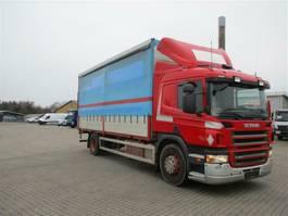 huifzeil vrachtwagen Scania P340 2008