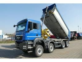 overige vrachtwagens MAN TGS 35.400 8x6 BB 4 Achs Muldenkipper 2012
