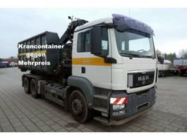 containersysteem vrachtwagen MAN TGS 26.360 6x4 BB Abrollkipper Seilgerät 2008
