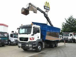 kipper vrachtwagen > 7.5 t MAN TGS 33.480 BB 6x4 3-Achs Kipper Heckkran mit Se 2013