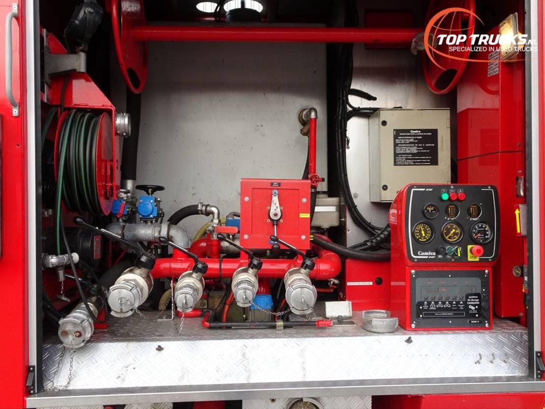 brandweerwagen vrachtwagen Renault Thomas Titan 1 Tunnel 4x4 - Calamities, Calamités - 1.500ltr water, 200 ... 2001