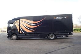 wissellaadbaksysteem vrachtwagen DAF 2008