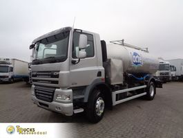 tankwagen vrachtwagen DAF CF 85.460 Euro 5 + Intarder + 2 Comp + 11000 Liter + Milk and water 2012