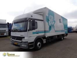koelwagen vrachtwagen Mercedes-Benz Atego 1224 + Euro 5 + TRS Generator + Lift + Side-door + Step + Box heater 2008