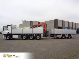 platform vrachtwagen DAF CF 460 COMBI + PTO + Euro 6 + Palfinger PK 18500 + GS AN-2000 + 8X2 2016