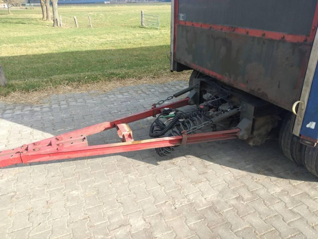 platte aanhanger vrachtwagen Jumbo TV280 L 1998