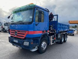 kipper vrachtwagen > 7.5 t Mercedes-Benz Actros 2005
