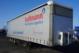 schuifzeil oplegger Schmitz Cargobull MEGA 2011