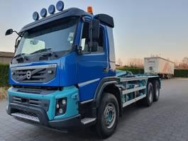 containersysteem vrachtwagen Volvo FMX 450 6X4 CONTAINER SYSTEEM- CONTAINER SISTEEM- CONTAINER HAAKSYSTEEM- SYSTEME CONTENEUR 2012