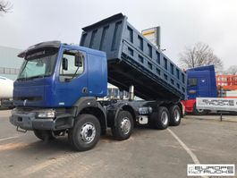 kipper vrachtwagen > 7.5 t Renault Kerax 420 Full steel - Manual - Sleeper cab - Big axle 2003