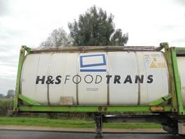 tankcontainer Van Hool 24.000 L Tank / Food-Lebensmittel / 20 FT 2001