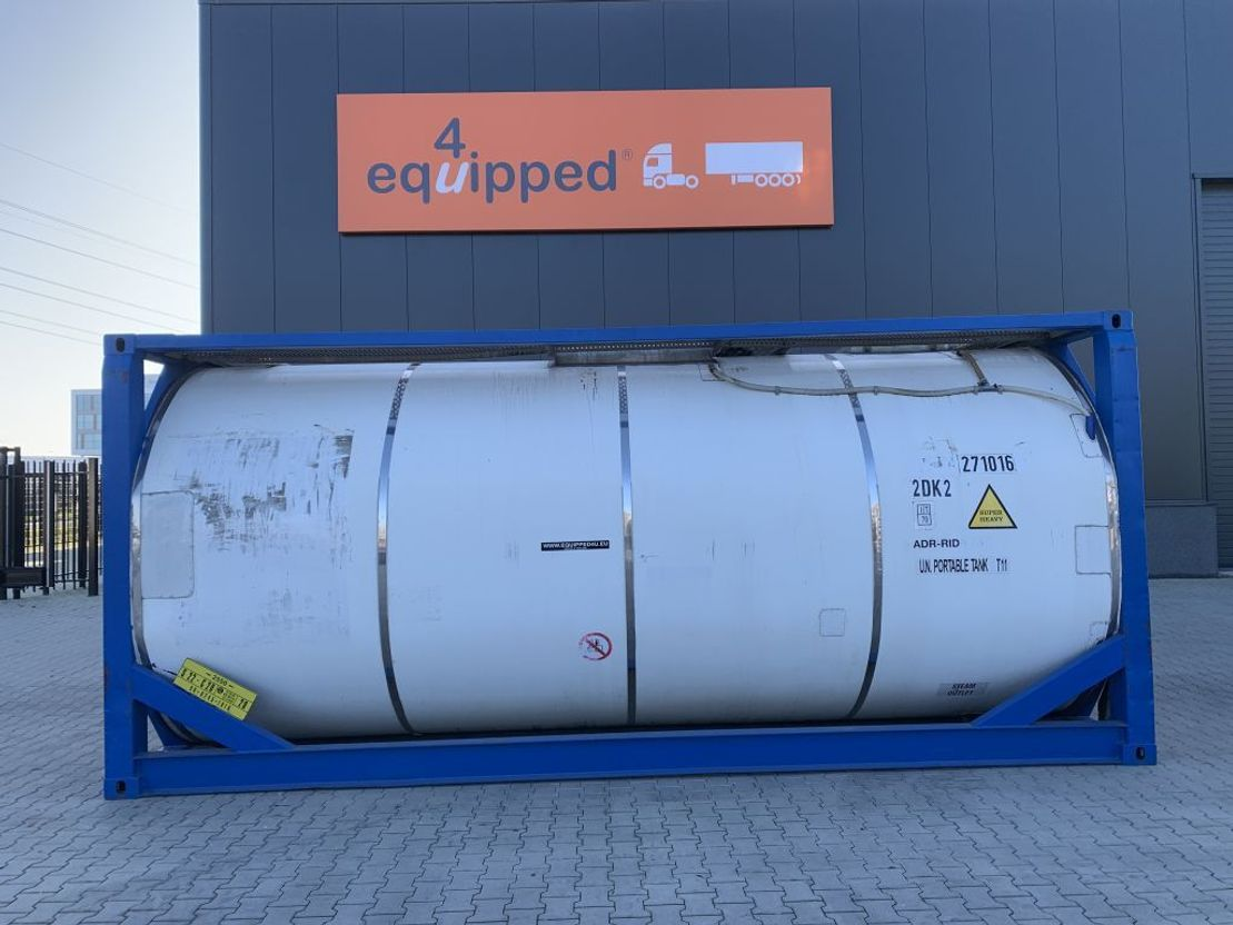 tankcontainer MTK Containers 20FT TC, 27.000L, UN PORTABLE, T11, payload: 31.860kg 1999