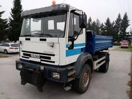 kipper vrachtwagen > 7.5 t Iveco EUROCARGO 150E23 4X4 meiller tipper 1996
