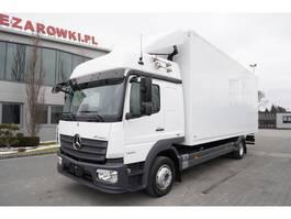 bakwagen vrachtwagen Mercedes-Benz Atego 1224 , E6 , Box 7,10m , Glob Cabin 2017