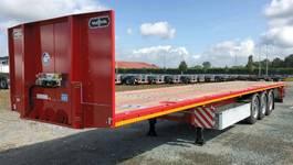 platte oplegger Van Hool !! NIEUW !! 3-asser / open - platte - plateau oplegger heavy duty 2021