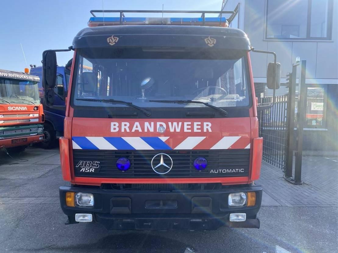 brandweerwagen vrachtwagen Mercedes-Benz 1124 F 4X2 - FULL STEEL - HOLLAND FIRE TRUCK 1996