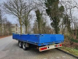 platte aanhanger vrachtwagen Fuchs EAL 105.62 T