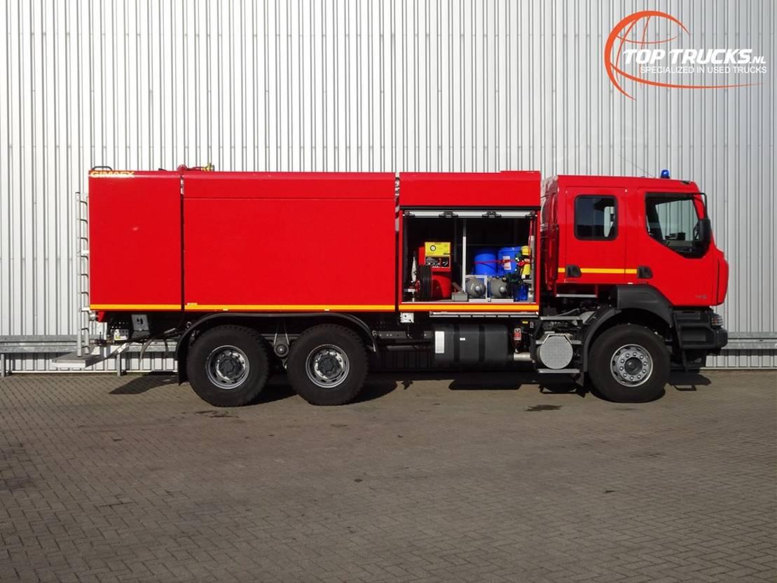 brandweerwagen vrachtwagen Renault 6 x4 Kerax 380.32 DXI 6x4 Unused! Feuerwehr, Fire - 8.000 water-1.000 Foam... 2014