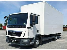 gesloten bestelwagen MAN TGL 8.150 BL-C Euro 6 4x2 3-Sitzer 6 m 2016
