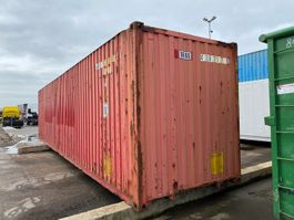 hard top zeecontainer Vernooy 40ft Palletwide High Cube Zeecont 430217