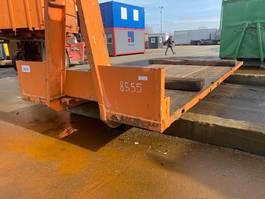 flat rack zeecontainer Vernooy Gebruikte Haak Laadvloer