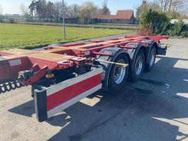 container chassis oplegger D-TEC FT-43-03V  / ALL COMBINATIONS (20 - 2x20 - 30 - 40 - 45) - LIFT AXLE 2004
