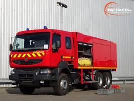 tankwagen vrachtwagen Renault 6 x4 Kerax 380.32 DXI 6x4 Unused! Feuerwehr, Fire - 8.000 water-1.000 Foam... 2014