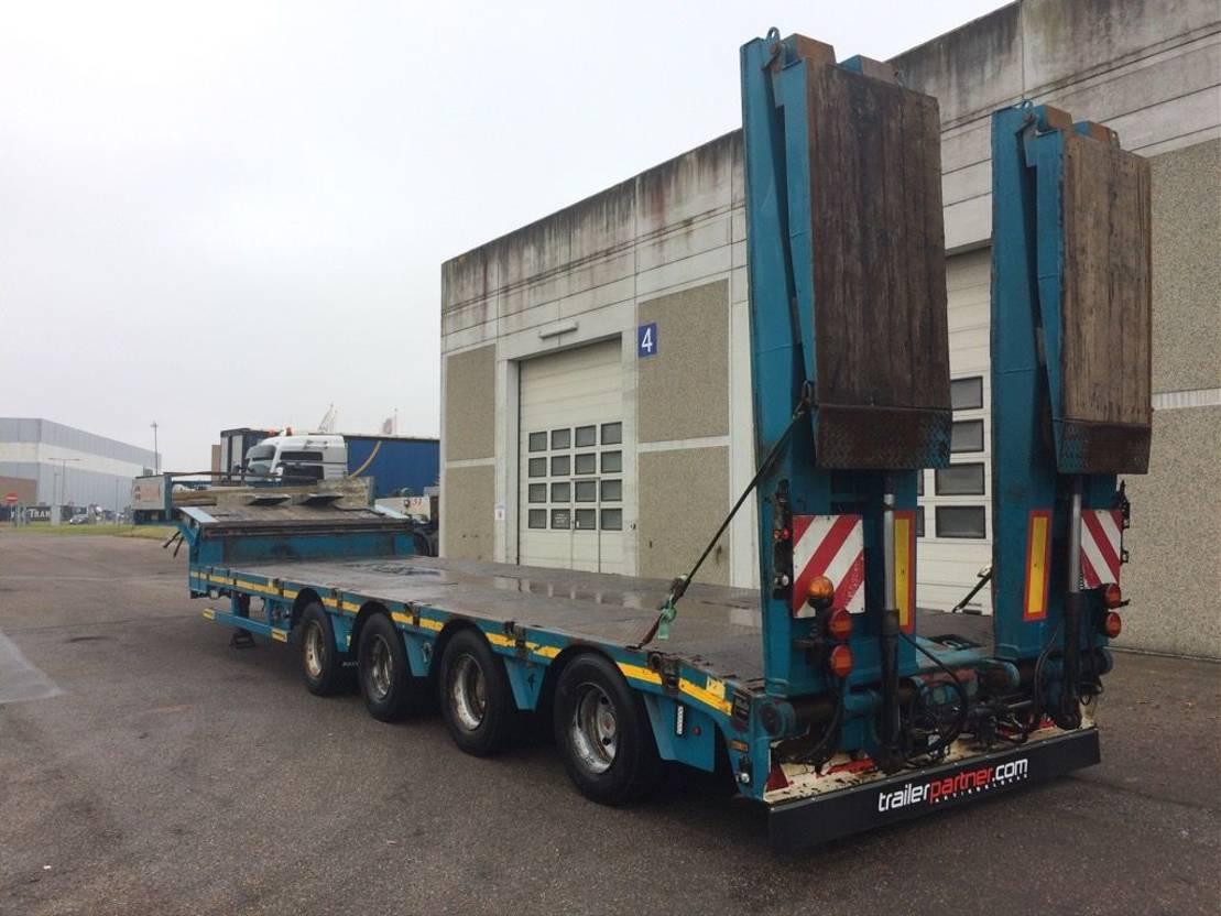 semi dieplader oplegger Faymonville Multimax Z 4 LAU tieflader  hydr. zwangslenkung 2015