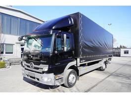 schuifzeil vrachtwagen Mercedes-Benz Atego 1224 , E5 , 18 EPAL , box-curtain/tarpulin , tail lift BAR 2012