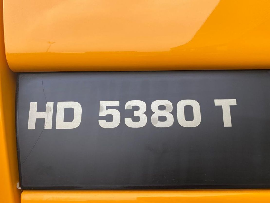 kipper vrachtwagen > 7.5 t Ginaf HD 5380 T 10X6 HEAVY DUTY MINING TIPPER/DUMPER 2014