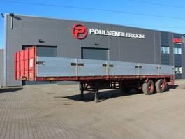 platte oplegger Broshuis 2-axle 12,70m + 5,00m extendable