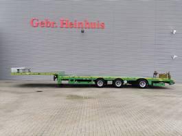 semi dieplader oplegger Broshuis 3AOU-18-36 SL 6.4 Meter extandable Mega! 2016