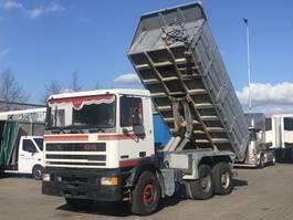 kipper vrachtwagen > 7.5 t DAF 95.360 ATI 6x4 STEEL SUSPENSION / BIG AXLES / TIPPER 1991