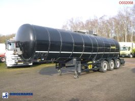 tankoplegger Parcisa Bitumen tank inox 30.4 m3 / 1 comp / ADR 05/2021 2002