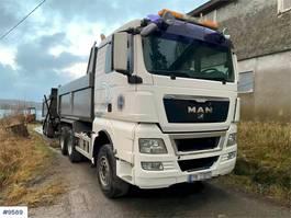 kipper vrachtwagen > 7.5 t MAN TGX 33.480 Tipper truck 2011
