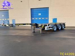 container chassis oplegger KAESSBOHRER SHG AMH Container Transport