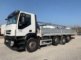 open laadbak vrachtwagen Iveco Stralis 260.42 Stralis 260S42 8x2 2008