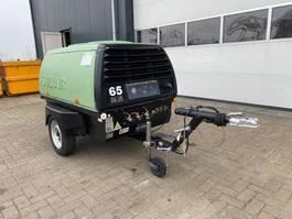 compressor Kubota Sullair VH7M 30 kW 3720 L / min 7 Bar Mobiele Diesel Compressor 2003