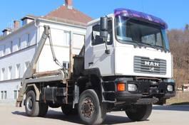 wissellaadbaksysteem vrachtwagen MAN 19.414  4x4 Retarder Blatt Blatt E3 2001