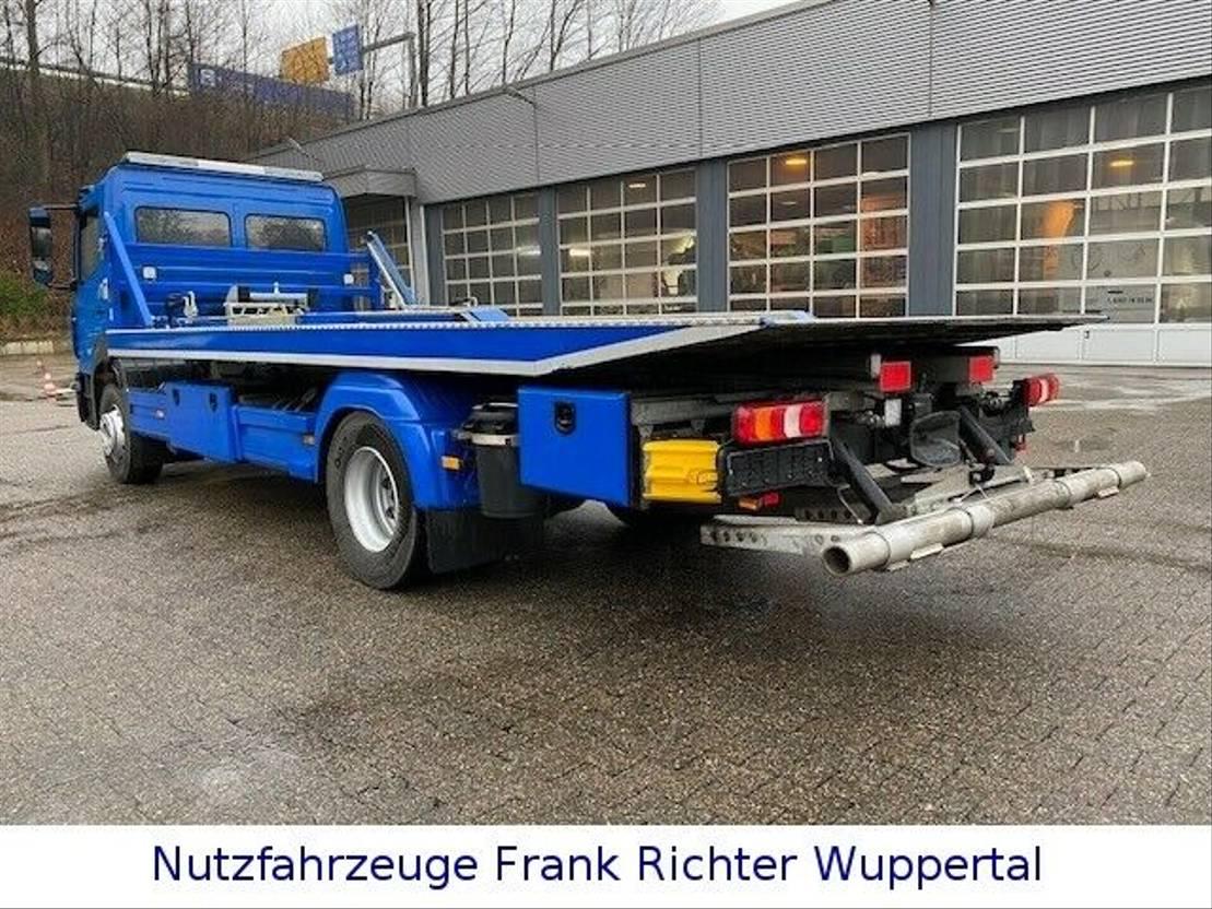takelwagen-bergingswagen-vrachtwagen Mercedes-Benz 1630,Org.15Tkm Schiebeplat.Doppelst.Brille 2019