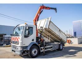 kipper vrachtwagen > 7.5 t DAF LF 55.220 - PALFINGER PK 10 000 2007