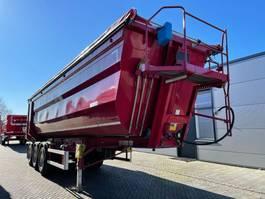 kipper oplegger Kempf Hardox tipper trailer 45m3 39A10 2015