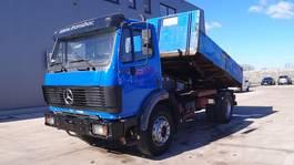 kipper vrachtwagen > 7.5 t Mercedes-Benz SK 1722 (GRAND PONT / SUPENSION LAMES / V6-MOTEUR / PARFAIT ETAT) 1992